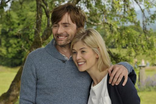 Rosamund Pike and David Tennant in What We Did on Our Holiday