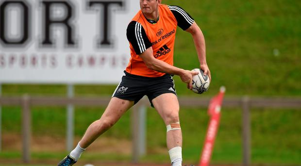 Denis Hurley is one of a clutch of Munster players who will play their second game of the season against Ospreys. Diarmuid Greene / SPORTSFILE