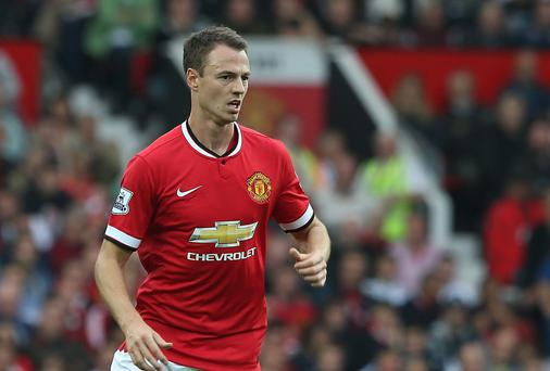Jonny Evans is closing in on a move to Everton