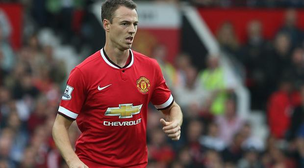 Jonny Evans is one of three Manchester United defenders injured. Photo by Matthew Peters/Man Utd via Getty Images
