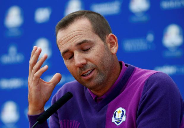 European Ryder Cup player Sergio Garcia has responded to Nick Faldo's criticism, commenting that,
