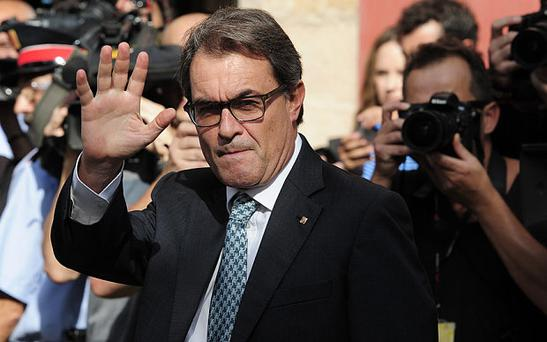 Catalan leader Artur Mas Photo: AFP/Getty Images