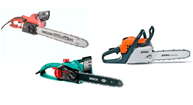 We compare chainsaws from electric to petrol independent fromleft aldi oregon electric chainsaw bosch ake40 stihl ms181c be greentooth Images