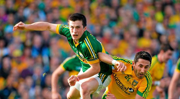Paul Murphy has been used to career set-backs, and rejection, which made the achievement of winning an All-Ireland, and being recognised as man of the match, all the more laudable. Brendan Moran / SPORTSFILE