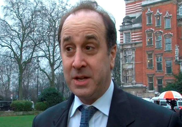 Cabinet Office Minister Brooks Newmark who has resigned as Minister for Civil Society over a story that is to be published in a Sunday newspaper