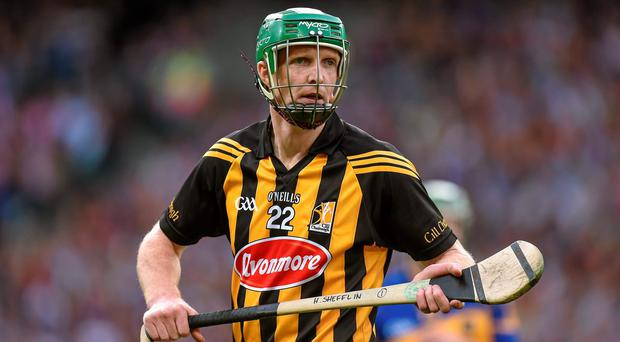 Record-breaking Henry Shefflin made his introduction for Kilkenny during the second half of the All-Ireland final against Tipperary. Photo: Brendan Moran / SPORTSFILE