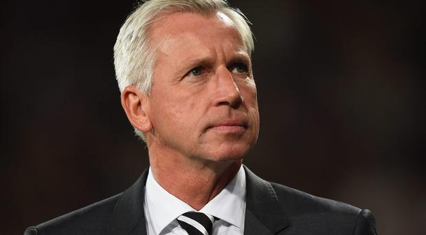 Depending on the mood of Newcastle's owner Mike Ashley tonight's match against Stoke City is either a make or break game for manager Alan Pardew or it is all just a big joke. Mike Hewitt/Getty Images