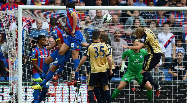 Mile Jedinak of Crystal Palace scores his team's second goal during the Barclays Premier League match between Crystal Palace and Leicester City at Selhurst Park. Mike Hewitt/Getty Images
