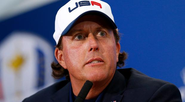 'Phil Mickelson cannot be allowed to present himself as the speaker of truth to power, the man who wants to save America, because the route he chose was a betrayal.' Photo: Harry Engels/Getty Images