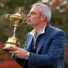 'Paul McGinley must receive greatest fanfare for putting a system in place which will help ensure Europe's continued supremacy in this arena well into the future.' Photo: Mike Ehrmann/Getty Images