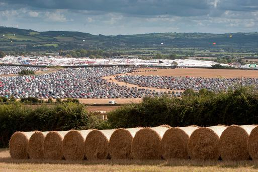 Panoramic: The scale, scenic location and harvest atmosphere for last week's Ploughing Championships is captured in this photograph taken by local photographer Alf Harvey.