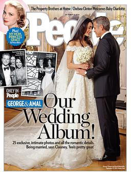 George Clooney wed Amal Alamuddin in a lavish celebration lasting four days in Venice