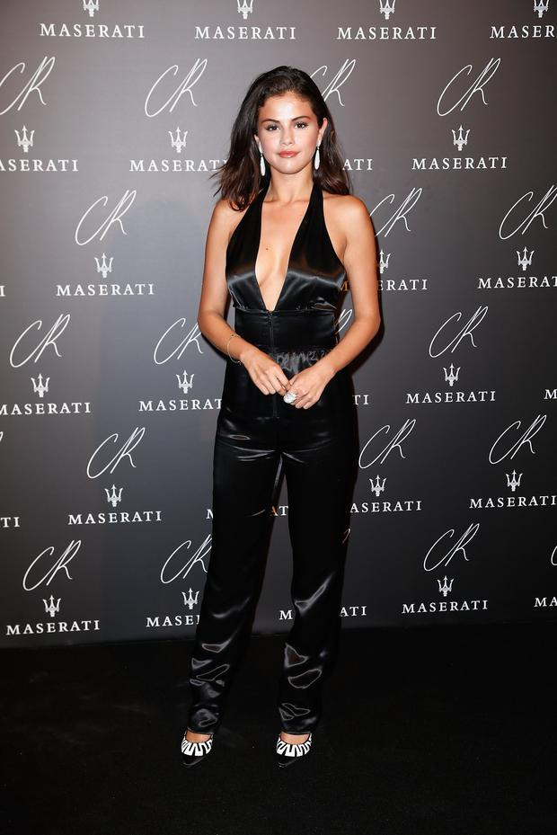 Selena Gomez attends CR Fashion Book Issue N°5 : Launch Party as part of the Paris Fashion Week Womenswear Spring/Summer 2015