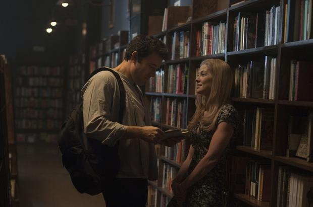 Ben Affleck and Rosamund Pike in a scene from Gone Girl