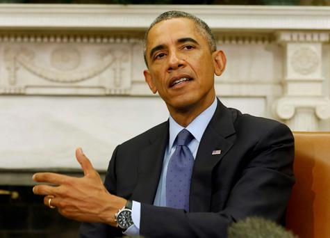 US President Barack Obama. Reuters
