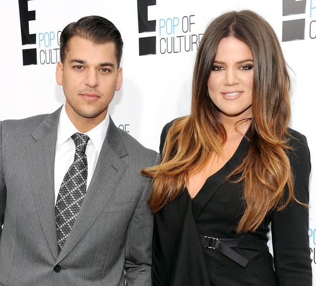 Rob and Khloe Kardashian in happier times