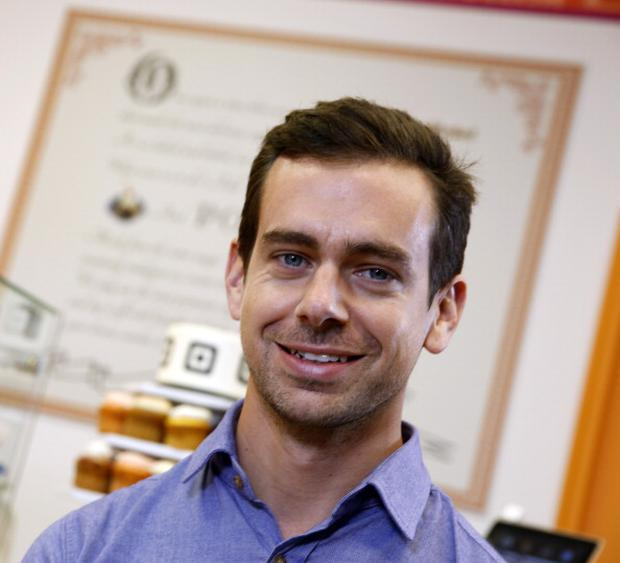 Jack Dorsey, co-founder and chairman of Twitter Inc. and co-founder and chief executive officer of Square Inc.