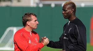 Brendan Rodgers and Mario Balotelli