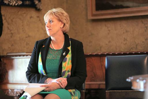 Minister for Arts, Heritage and the Gaeltacht Heather Humphreys, on a visit to Muckross House, Killarney, celebrating the 50th anniversary of the opening of Muckross House to the public. Photo: Valerie O' Sullivan