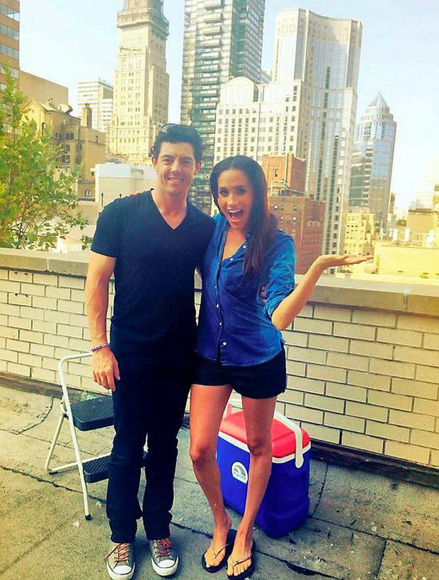 Rory McIlroy and Meghan Markle