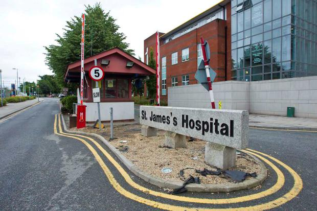 St James's Hospital was one of the nine hospitals