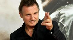 A-Lister: Actor Liam Neeson is one of a number of stars who command an eight-figure pay packet. AP Photo/dapd/ Steffi Loos