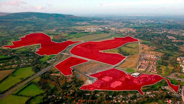 This landbank at Cherrywood in Dublin is one of the biggest development land sales in years