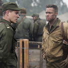 Scott Eastwood with Brad Pitt in Fury