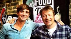 Donal recently joined Jamie Oliver's FoodTube family