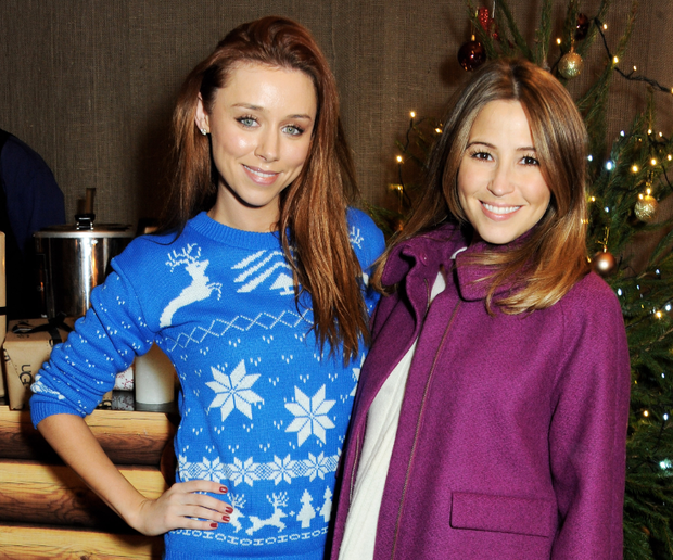 LONDON, ENGLAND - NOVEMBER 27: Una Healy (L) and Rachel Stevens attend the launch of the UGG Christmas Grotto at Duke of York Square on November 27, 2013 in London, England. (Photo by David M. Benett/Getty Images for UGG)