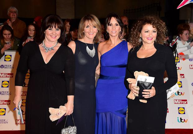 Loose Women presenters (left to right) Coleen Nolan, Kaye Adams, Andrea McLean and Nadia Sawalha