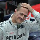 Improving: Michael Schumacher is currently recovering at his home in Switzerland Photo: AFP