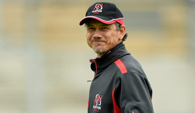 Ulster's Head Coach Les Kiss will take over as Ulster's director of rugby from 2015 (Oliver McVeigh / SPORTSFILE)