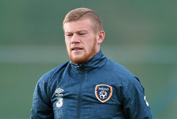 Republic of Ireland's James McClean gave his reasons for not wearing a poppy