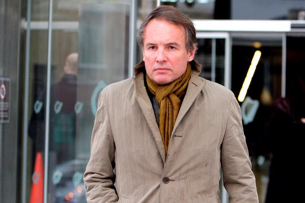 Businessman Breifne O'Brien (51), of Monkstown in Dublin, who yesterday (Wed.) was jailed for seven years for the theft of sums totaling around €11m from five people between 2006 and 2008. Pic: Courtpix