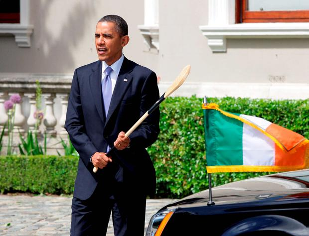 President Obama and the new US ambassador share an interest in Ireland