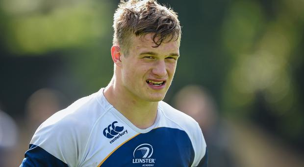 Leinster flanker Josh van der Flier will make his full debut against Zebre in Italy.