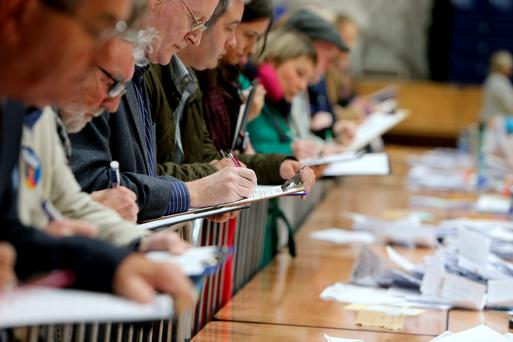 Counting underway in the Dublin South West by-election in the National Basketball arena in Tallaght