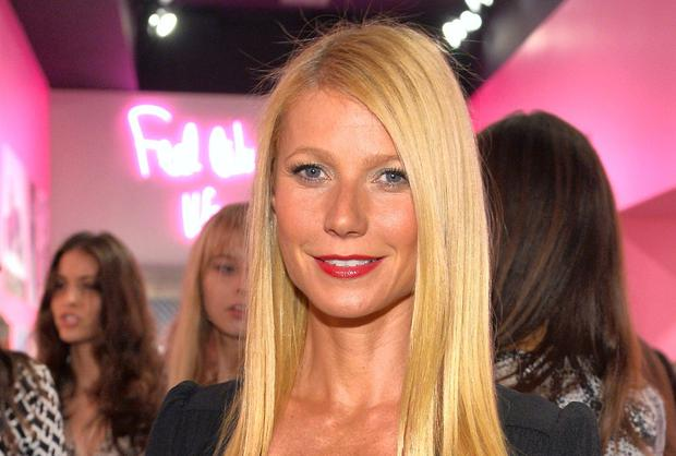 Psyched: Gwyneth Paltrow says she is fired up by knowing that Martha Stewart sees her Goop brand as competiton. Charley Gallay/Getty Images