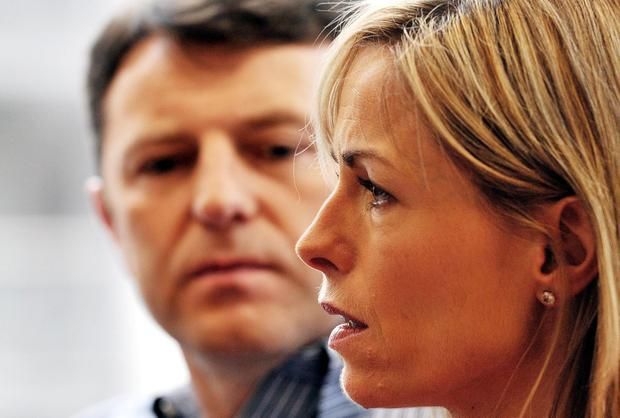 A dossier of online abuse directed at Gerry and Kate McCann is being examined by police. John Stillwell/PA Wire