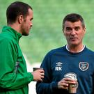 Roy Keane says John O'Shea is entitled to be proud of his career with both club and country