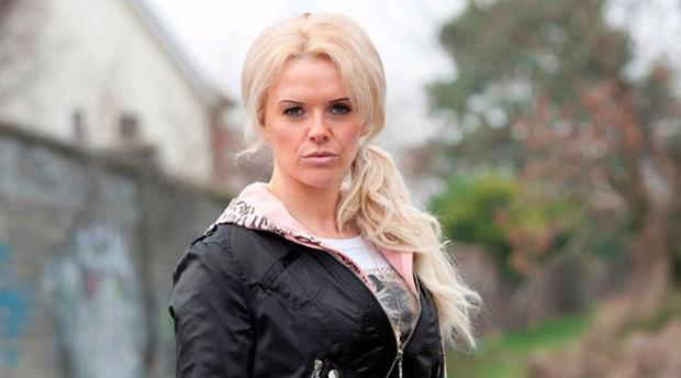 Actress Denise McCormack as Linda in RTE's 'Love/Hate' series Pic: RTE