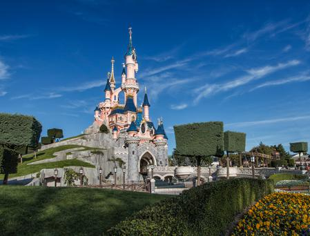Sleeping Beauty's Castle in Disneyland, Paris
