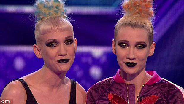 Blonde Electra were the first to be booted off the X Factor live shows, alongside Overload Generation