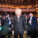 Bob Geldof at the One Young World 2014 Summit in Dublin