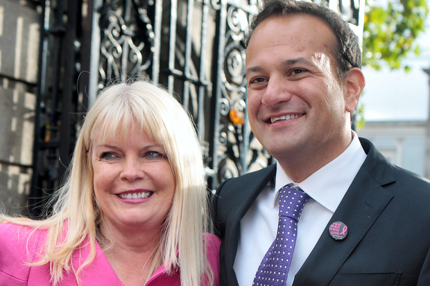 Leo Varadkar TD and Fine Gael deputy Mary Mitchell O'Connor