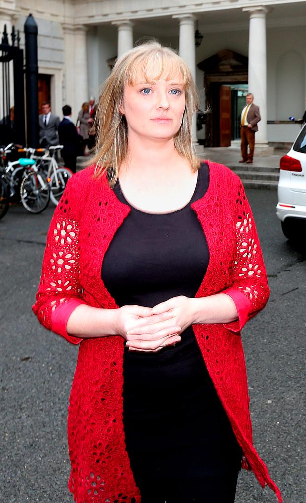 Mairia Cahill pictured after meeting Michael Martin earlier this week. Picture: Gerry Mooney