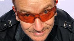 Bono revealed on The Graham Norton Show that he has suffered from glaucoma for many years, prompting his continual use of dark glasses