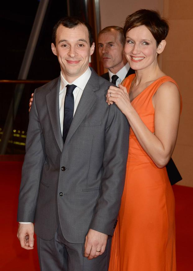 Tom Vaughan Lawlor, wife Claire Cox