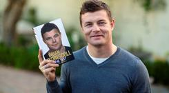 Brian O'Driscoll's book, The Test, is out on Thursday